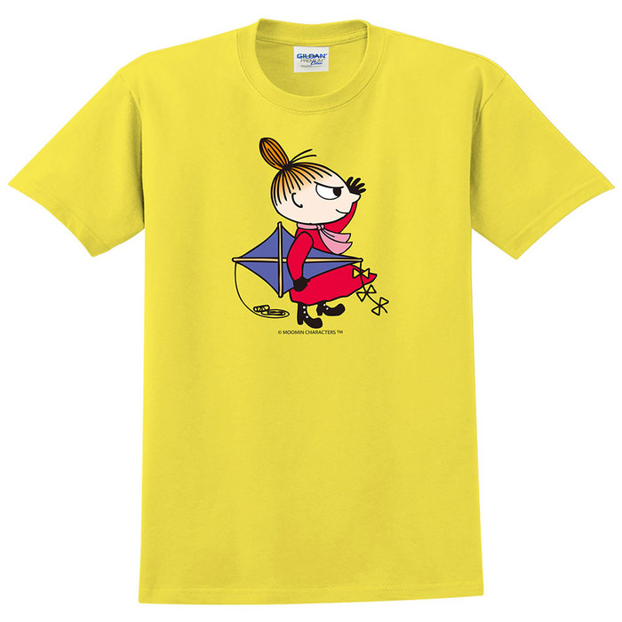 (複製)YOSHI850 Moomin嚕嚕米正版授權:T恤【悠閒】成人短袖 T-shirt