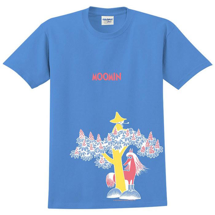 (複製)YOSHI850 Moomin嚕嚕米正版授權:T恤【期待】成人短袖 T-shirt