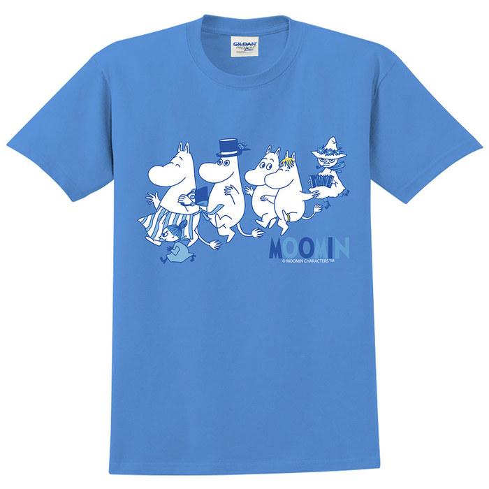 (複製)YOSHI850 Moomin嚕嚕米正版授權:T恤【愛畫畫的Moomin】成人短袖 T-shirt