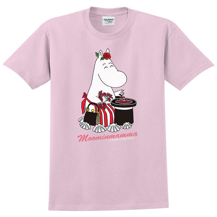 (複製)YOSHI850 Moomin嚕嚕米正版授權:T恤【有你在真好】成人短袖 T-shirt