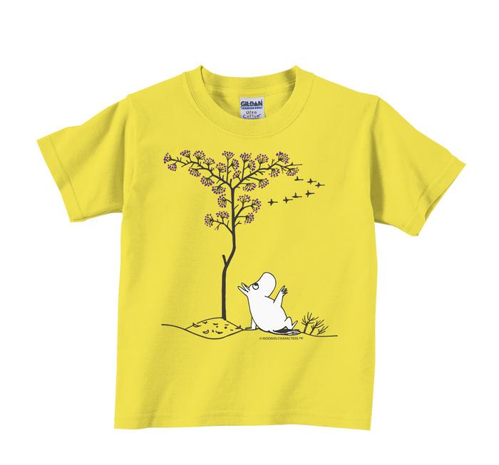 (複製)YOSHI850|Moomin嚕嚕米正版授權:T恤【花現可兒】兒童短袖 T-shirt