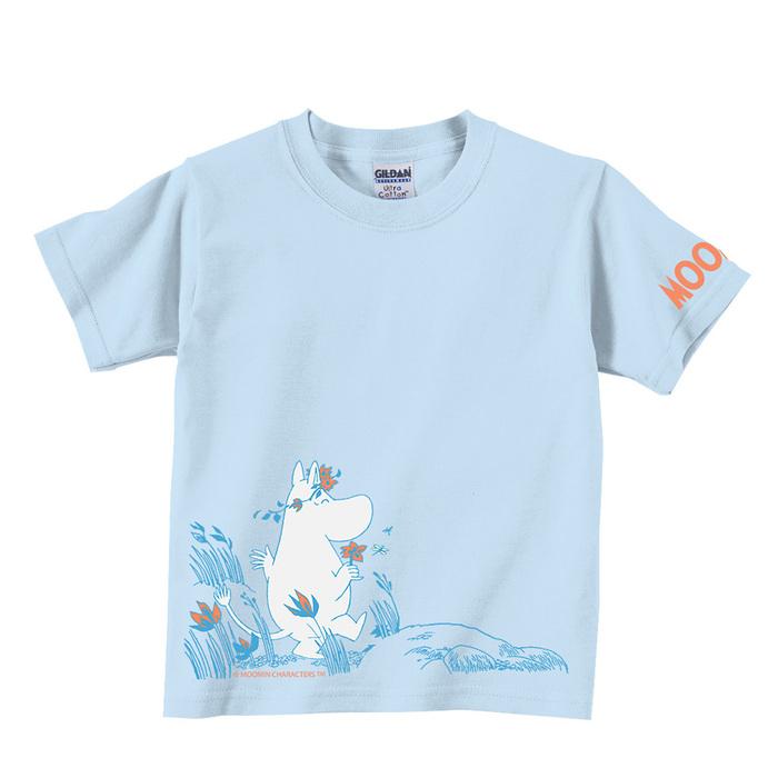 (複製)YOSHI850|Moomin嚕嚕米正版授權:T恤【果香浴缸】兒童短袖 T-shirt