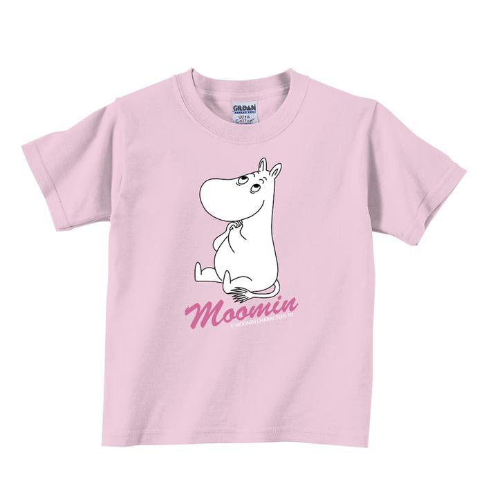 (複製)YOSHI850 Moomin嚕嚕米正版授權:T恤【有你在真好】兒童短袖 T-shirt