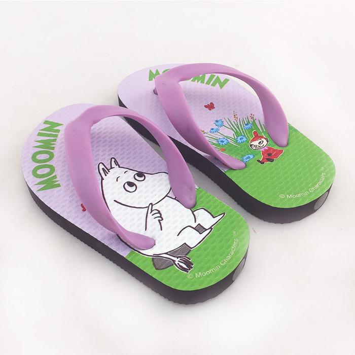 (複製)YOSHI850|Moomin嚕嚕米正版授權:夾腳拖鞋【07】 兒童