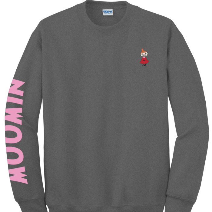(複製)YOSHI850|Moomin嚕嚕米正版授權:大學T【Little My】成人長袖 T-shirt  (紅)