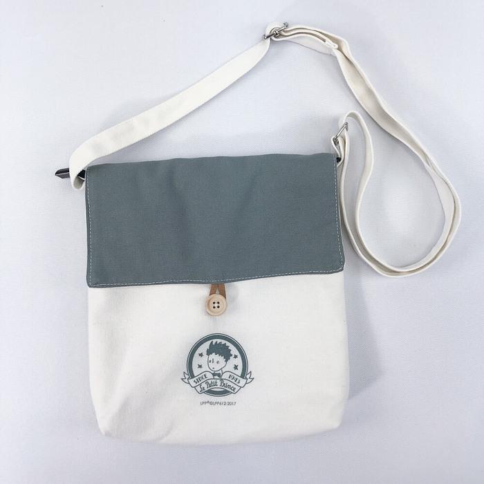 (複製)YOSHI850 小王子經典版授權:大口袋購物包【01白】