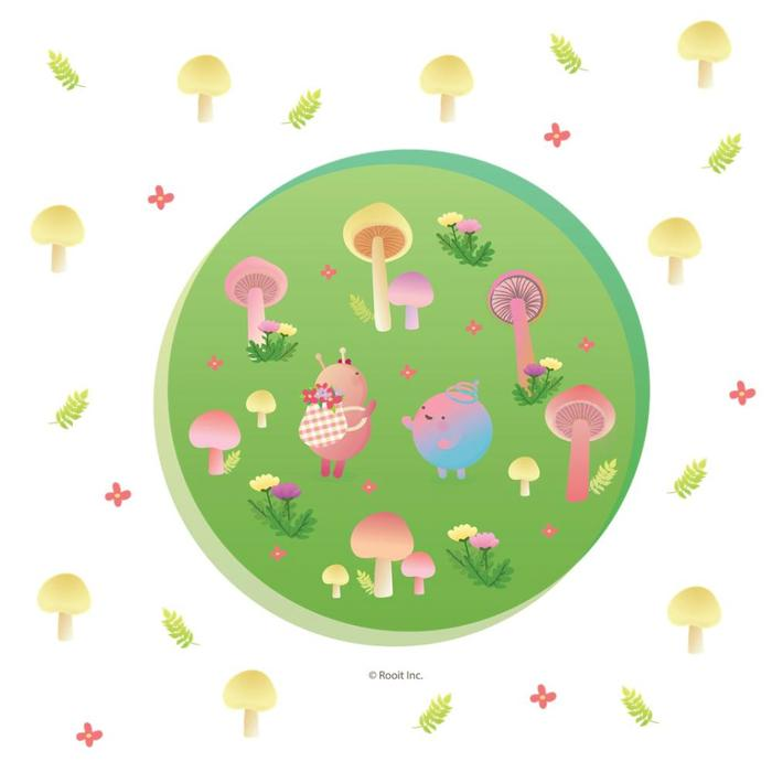 (複製)YOSHI850|嚕嚕米正版授權-擦手巾 【小紅傘】
