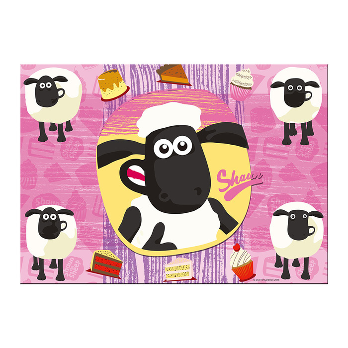 YOSHI850|笑笑羊正版授權:無框畫50×50/40×60cm【3款圖】