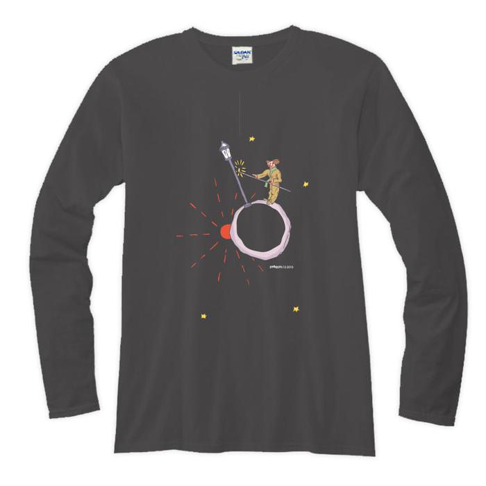 (複製)YOSHI850|小王子電影版授權【02 另一個星球】長袖T-shirt (修身/中性)7種顏色