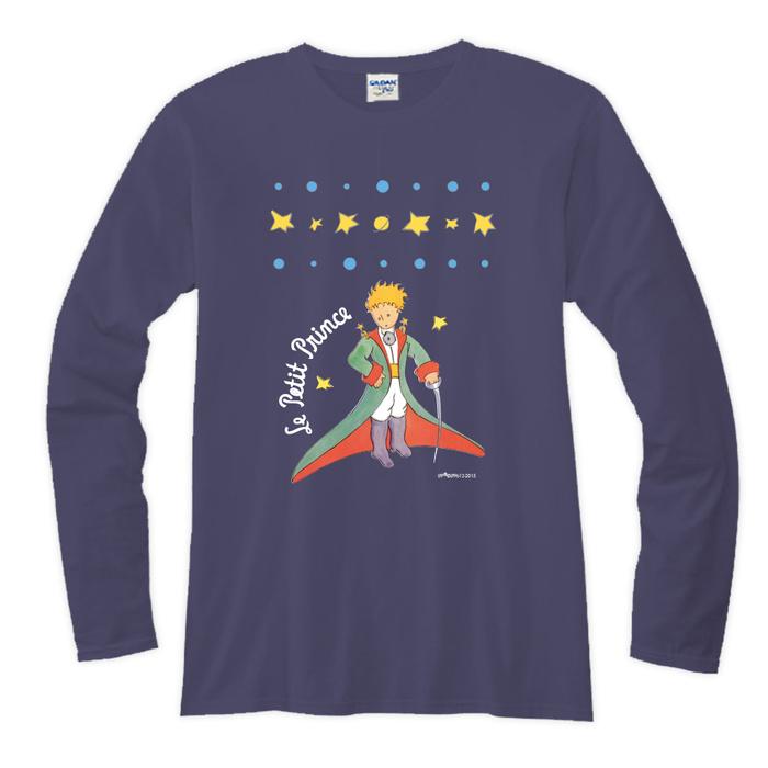 (複製)YOSHI850|小王子電影版授權【06 狐狸的秘密禮物】長袖T-shirt (修身/中性)7種顏色