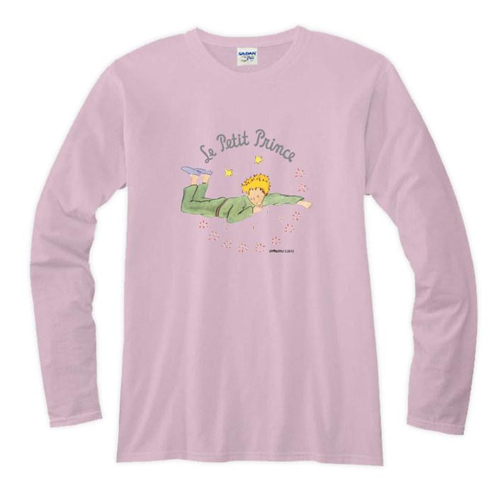 (複製)YOSHI850|小王子電影版授權【07 星星王子】長袖T-shirt (修身/中性)7種顏色