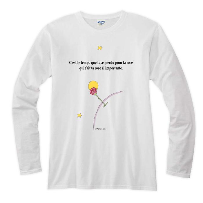 (複製)YOSHI850|小王子電影版授權【09 純真】長袖T-shirt (修身/中性)7種顏色