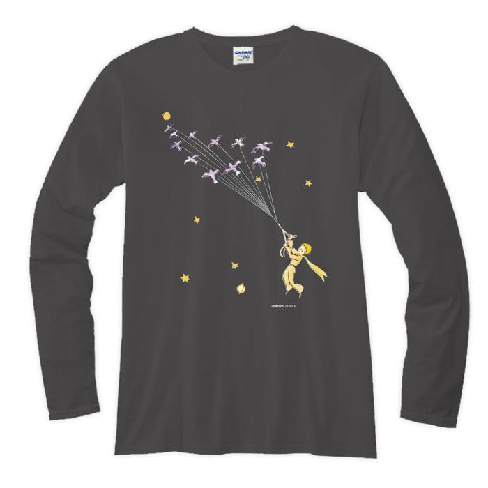(複製)YOSHI850|小王子電影版授權【10 專屬愛情】長袖T-shirt (修身/中性)7種顏色
