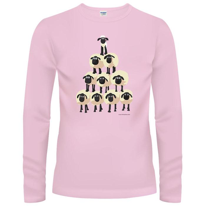 (複製)YOSHI850|笑笑羊正版授權【01 笑笑羊】長袖T-shirt (修身/中性)2種顏色
