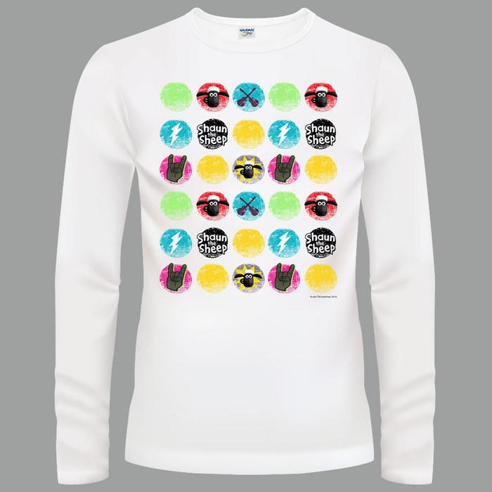 YOSHI850 笑笑羊正版授權【18 搖滾時光】長袖T-shirt (修身/中性)2種顏色