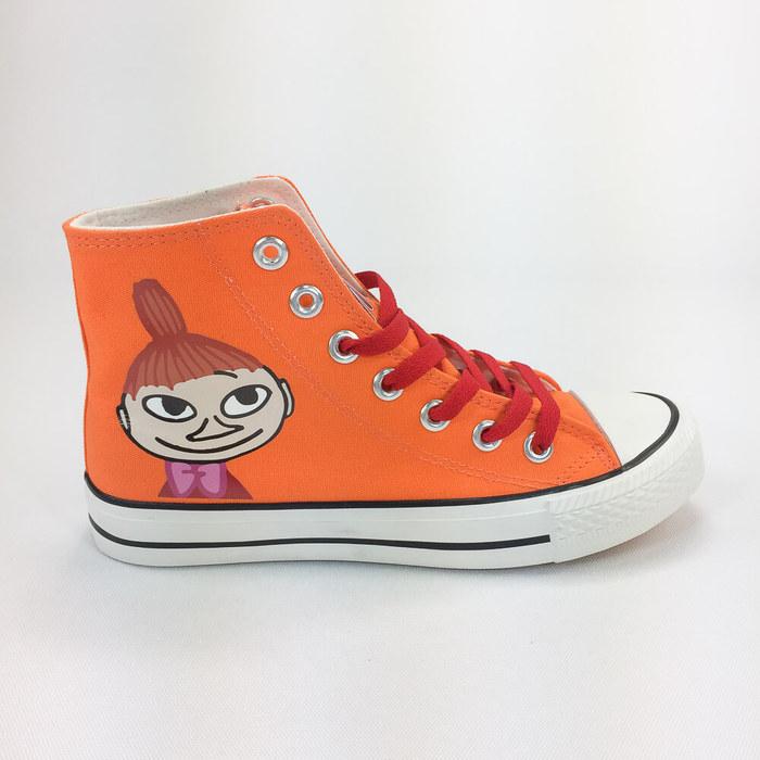 (複製)YOSHI850|Moomin嚕嚕米正版授權:帆布鞋【02紫鞋紫帶】