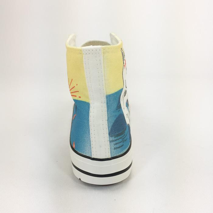 (複製)YOSHI850|Moomin嚕嚕米正版授權:帆布鞋【12粉鞋白帶】