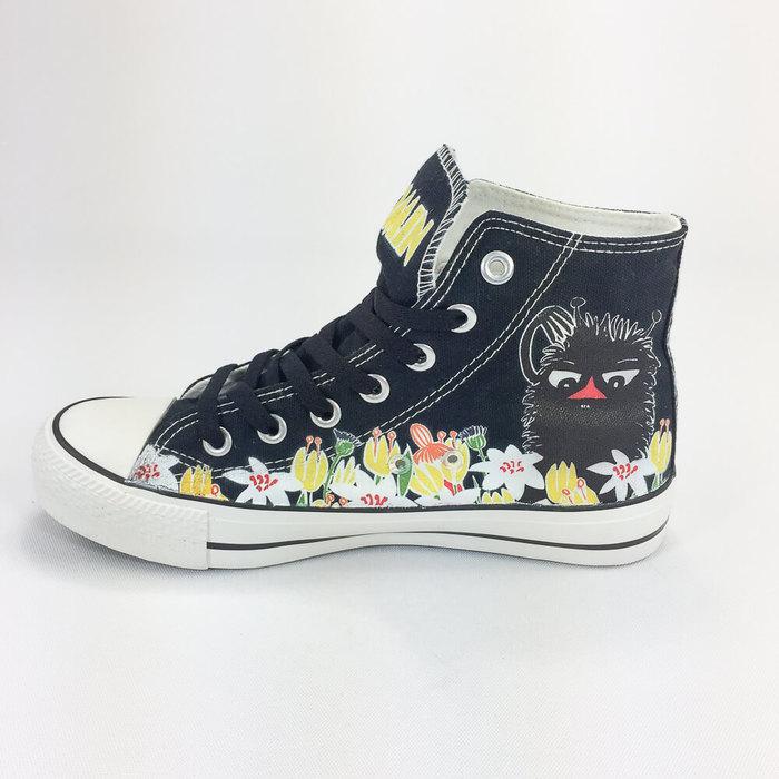 (複製)YOSHI850 Moomin嚕嚕米正版授權:帆布鞋【16白鞋白帶】