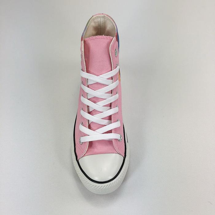 (複製)YOSHI850|新創設計師系列:帆布鞋【01 夢想樹(橘鞋黃帶)】
