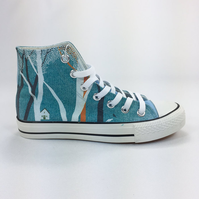 (複製)YOSHI850|新創設計師系列:帆布鞋【06 斑馬 (紫鞋黑帶)】