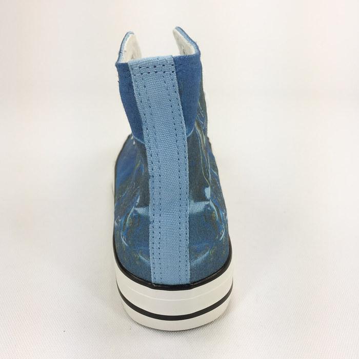 (複製)YOSHI850|笑笑羊正版授權:帆布鞋【06 紫鞋黑帶】