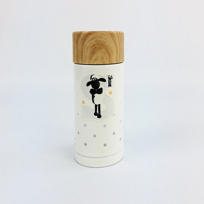 (複製)YOSHI850|新創設計師 - oaklets:木紋蓋保溫瓶(小-200ml)【02 白】