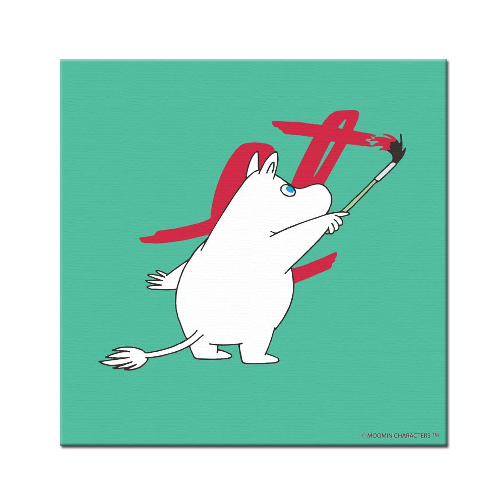 YOSHI850|Moomin嚕嚕米:無框畫【Moomin嚕嚕米】30×30cm