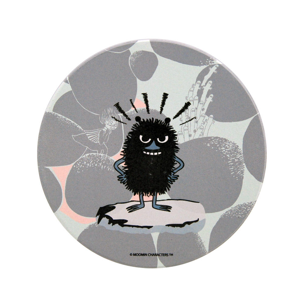 YOSHI850|Moomin嚕嚕米正版授權:吸水杯墊【阿丁】(方.圓)
