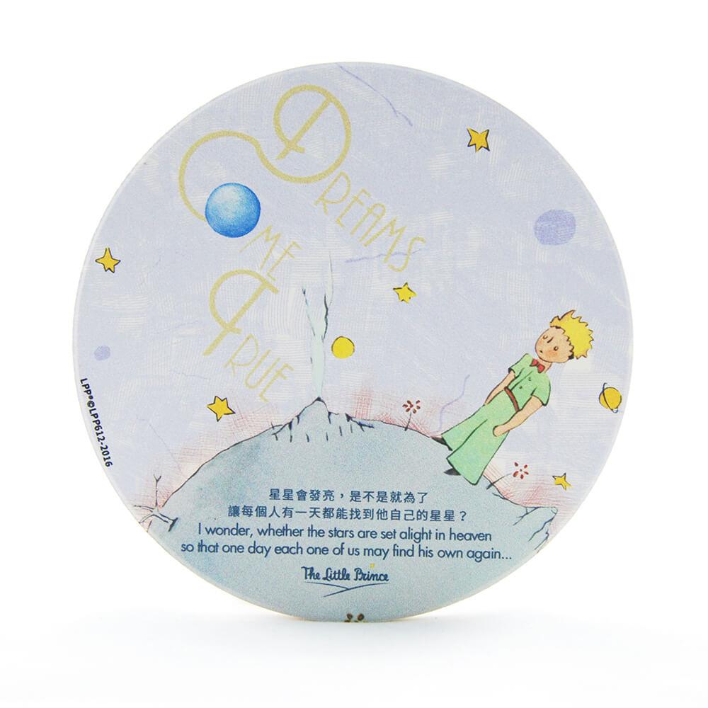 YOSHI850 經典小王子正版授權:吸水杯墊【Dreams Come True】(方.圓)