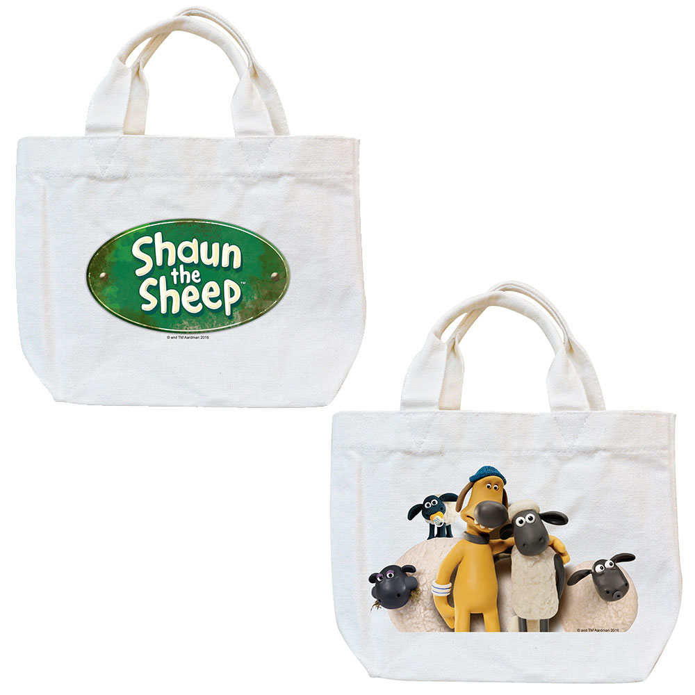 YOSHI850|笑笑羊正版授權Shaun The Sheep:小托特包【Shaun the Sheep 】