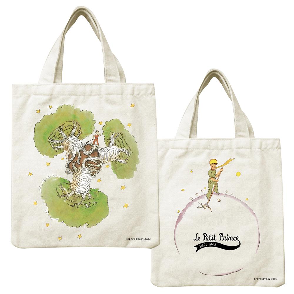 YOSHI850 小王子經典版授權系列:小帆布包【猢猻麵包樹】