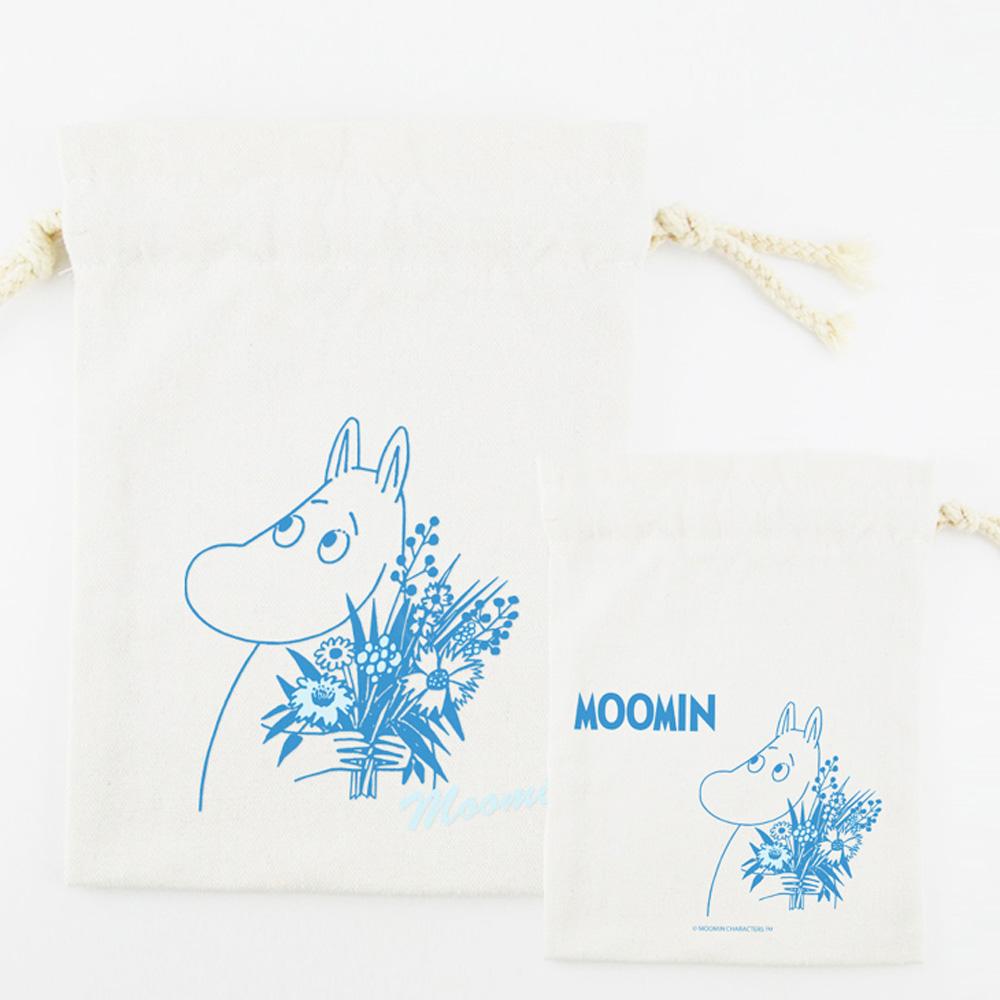 YOSHI850|嚕嚕米正版授權:束口袋(小)【10款】