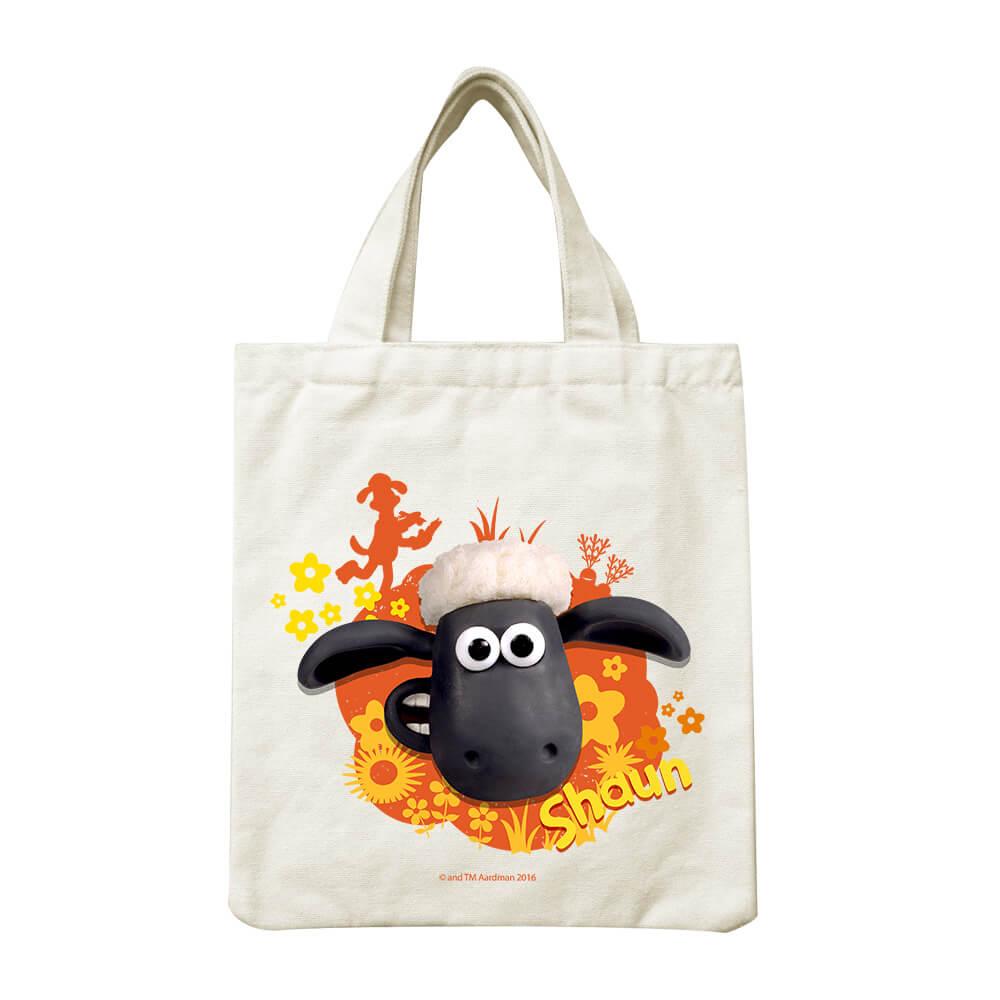 YOSHI850|笑笑羊正版授權Shaun The Sheep:小帆布包【Funny Day 】