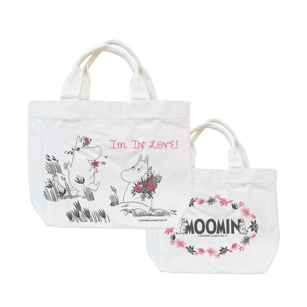 YOSHI850|Moomin嚕嚕米正版授權:小托特包【獻上我的愛】