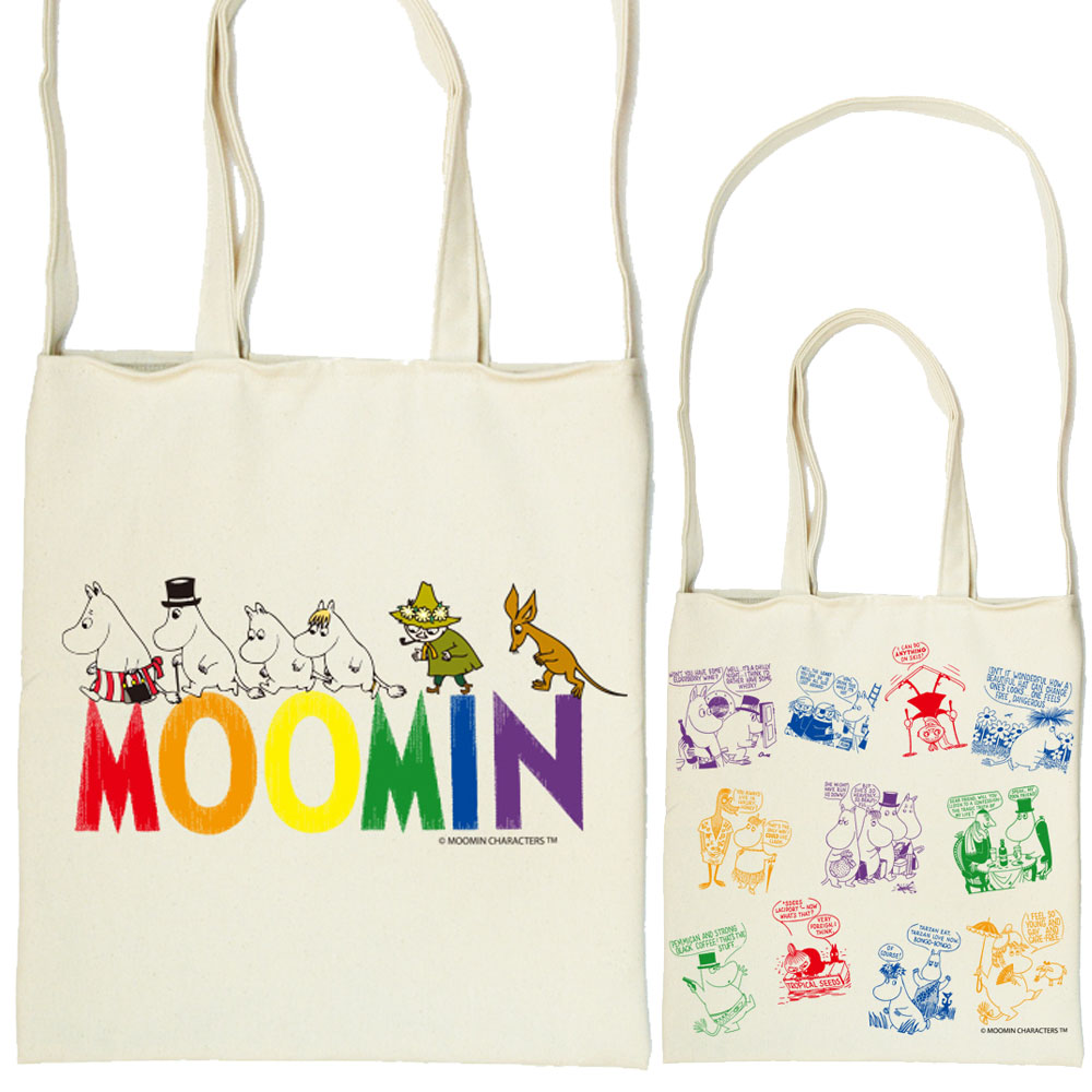 YOSHI850|Moomin嚕嚕米正版授權:斜背包【Happy Family】