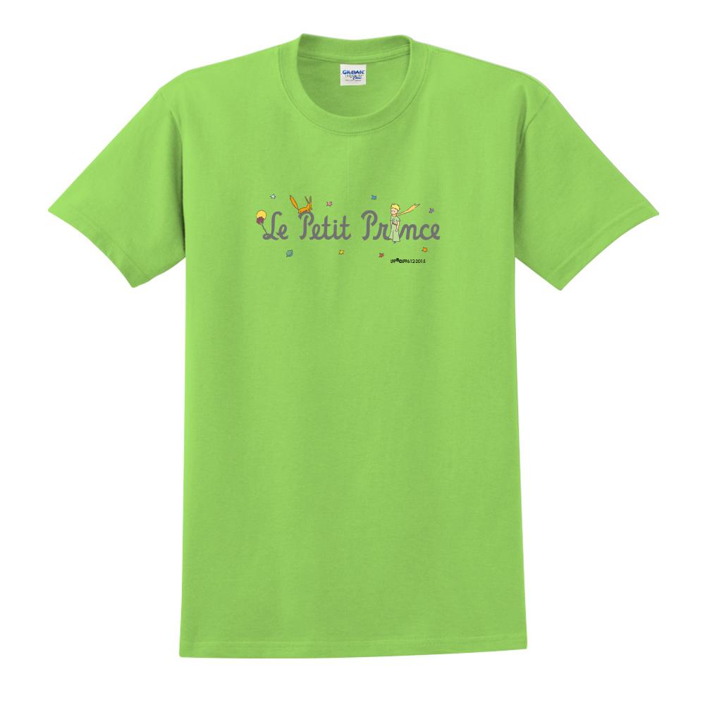 YOSHI850|小王子經典版授權【小王子LOGO 】短袖中性T-shirt (果綠)