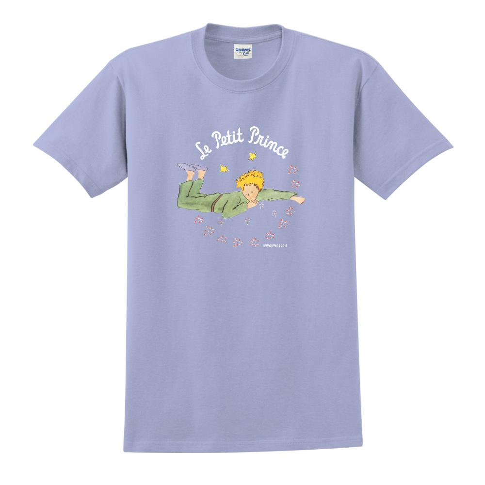 YOSHI850|小王子經典版授權【哭泣的小王子】短袖中性T-shirt (卡藍)