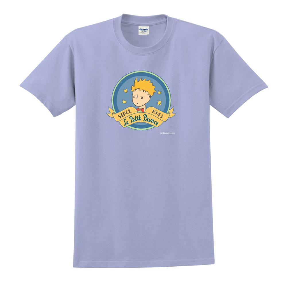 YOSHI850|小王子經典版授權【跟你說聲Hi】短袖中性T-shirt (卡藍)