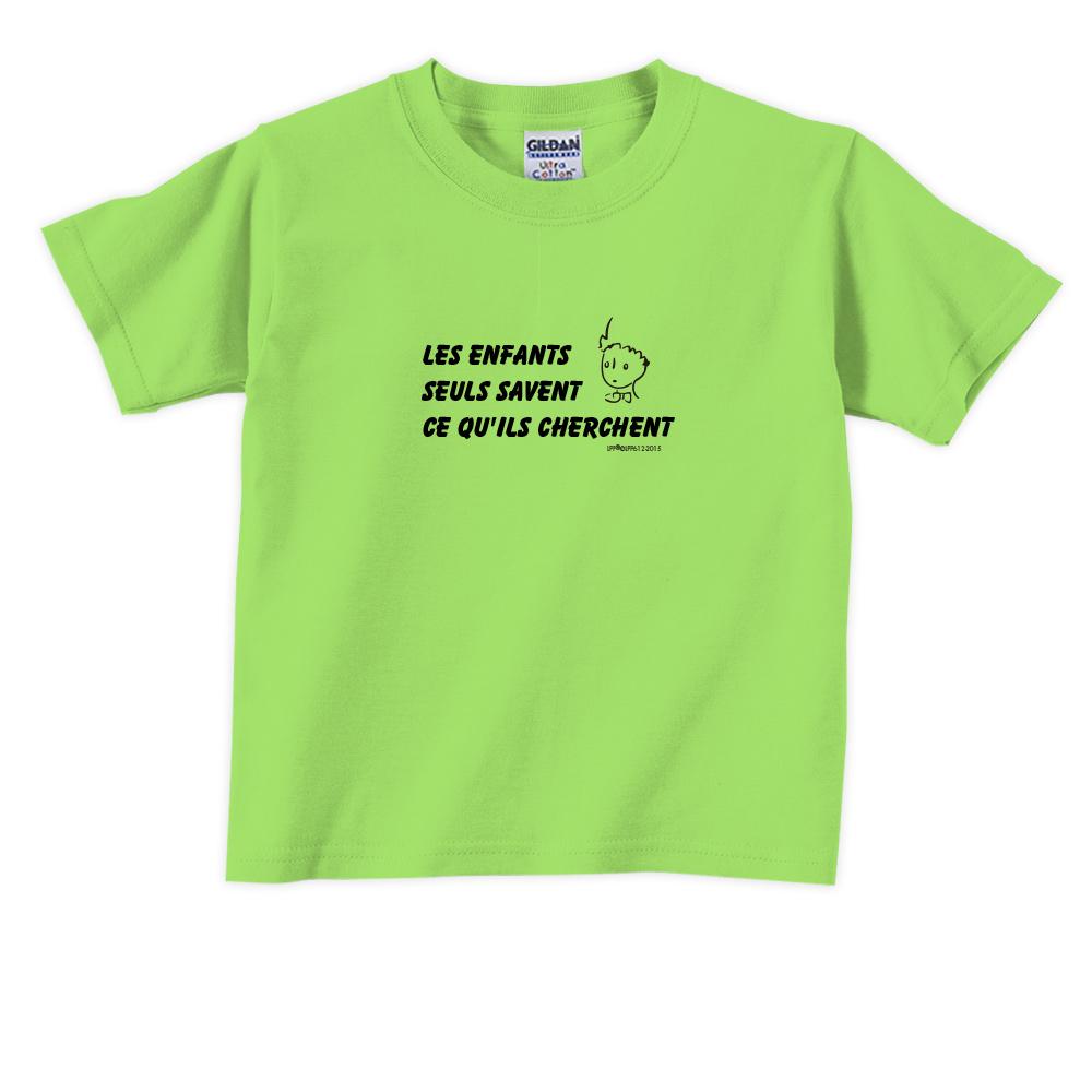 YOSHI850|小王子經典版授權【只有小孩子知道他們在找甚麼】短袖兒童T-shirt《9色》
