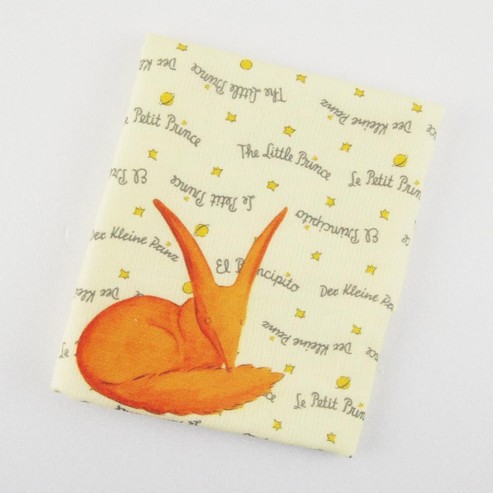 YOSHI850|小王子經典版授權:柔棉小方巾【狐狸】