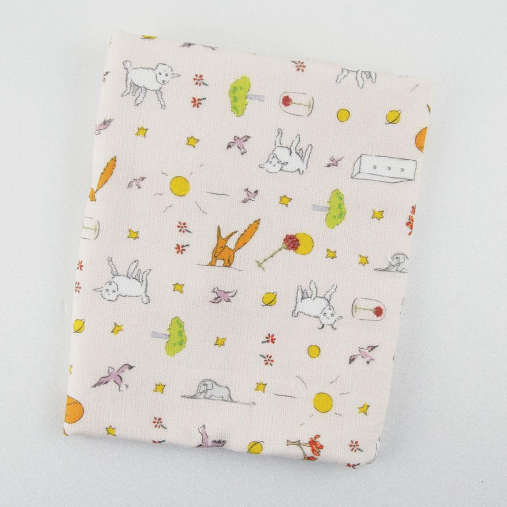 YOSHI850|小王子經典版授權:柔棉小方巾【小王子樂園】
