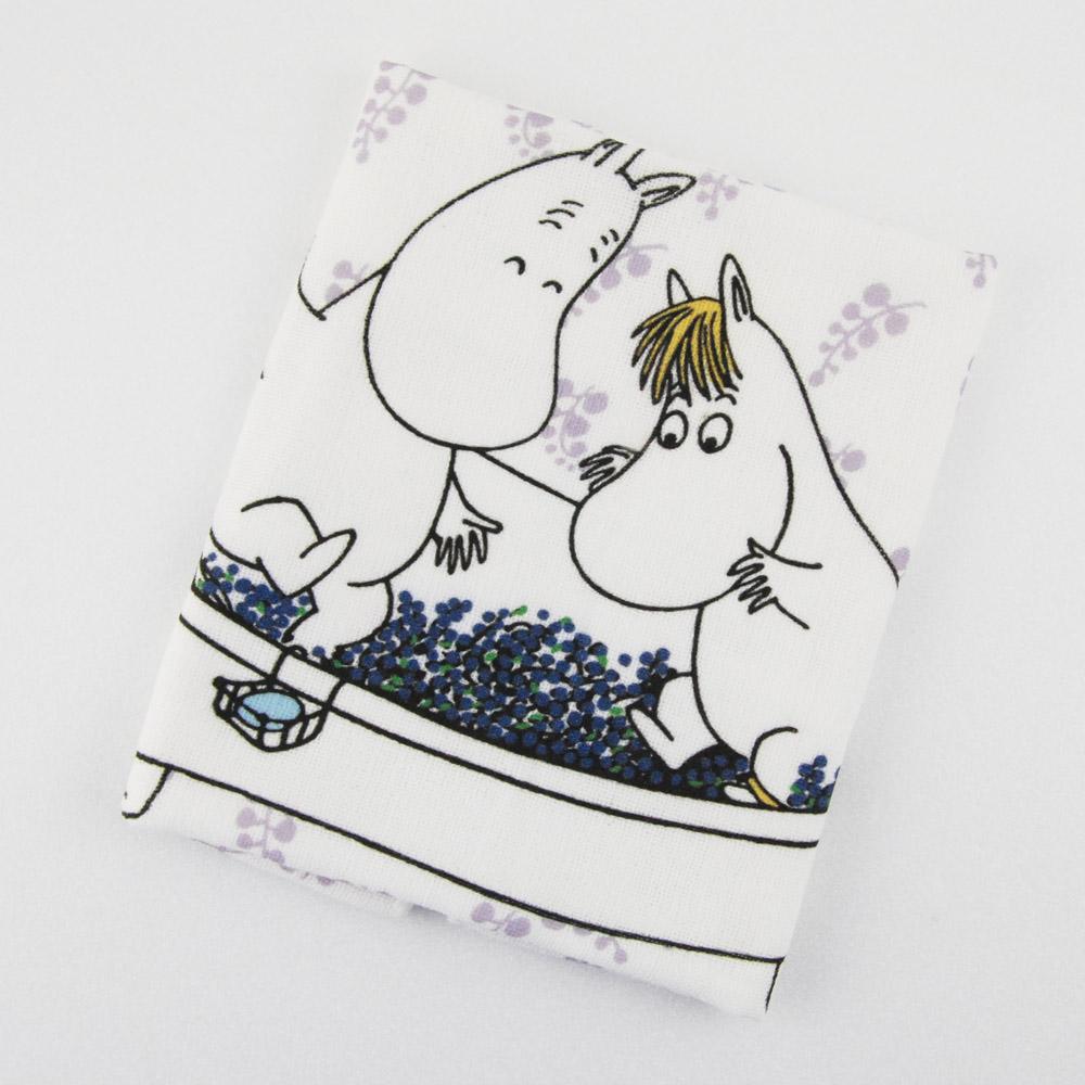 YOSHI850|Moomin嚕嚕米正版授權:柔棉小方巾【果香浴缸】
