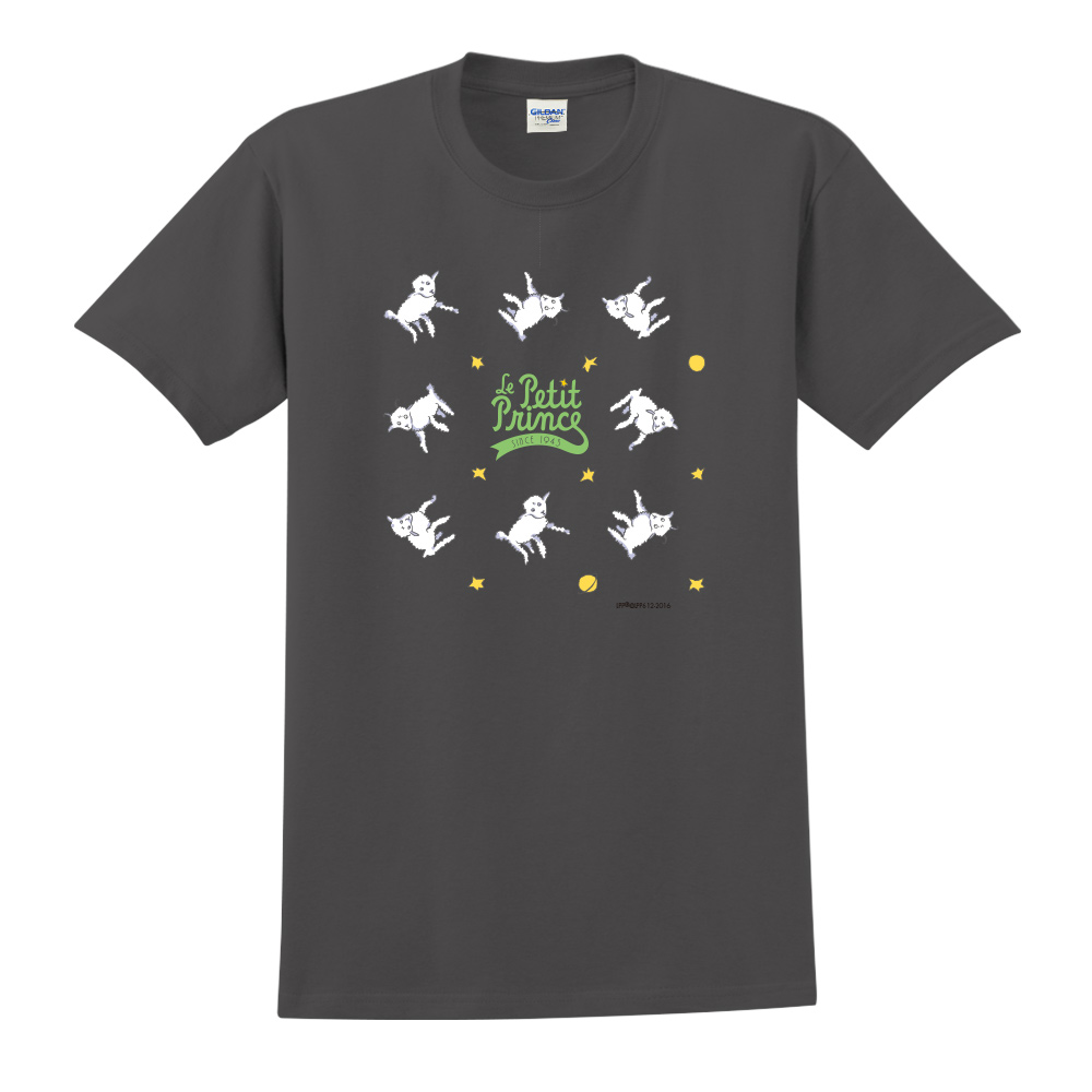 YOSHI850 小王子經典版授權【綿羊】短袖中性T-shirt (黑)
