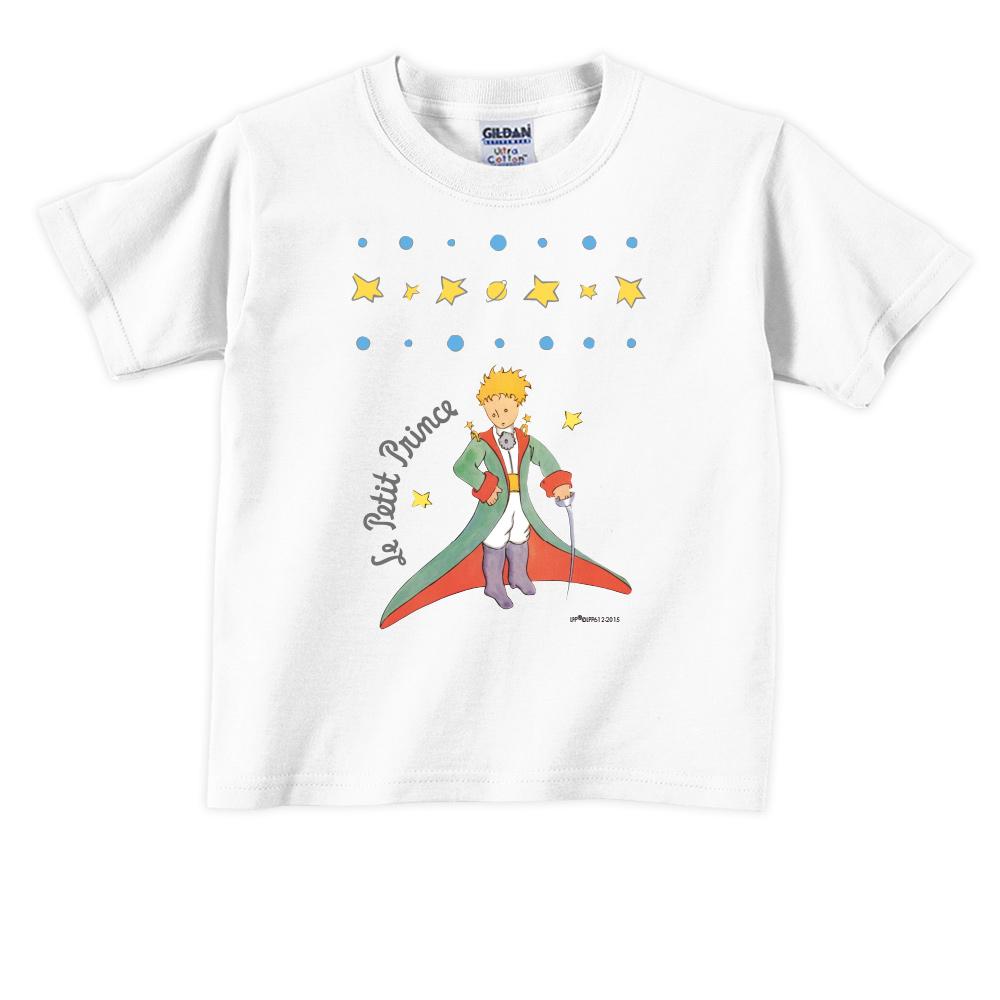 YOSHI850 小王子經典版授權【星星王子】短袖兒童T-shirt《白色》