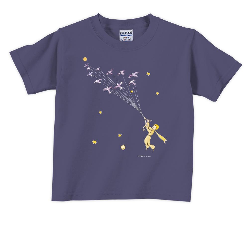 YOSHI850|小王子經典版授權【帶我去旅行】短袖兒童T-shirt 《6色》