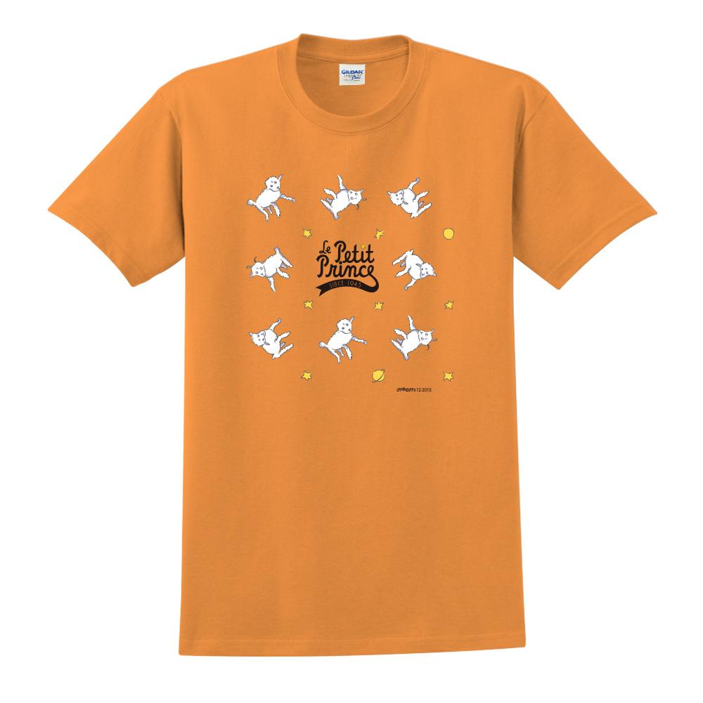 YOSHI850|小王子經典版授權【綿羊】短袖中性T-shirt (橘)
