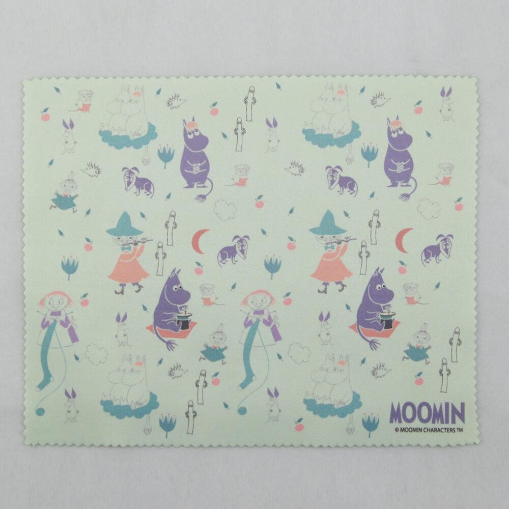 YOSHI850|Moomin嚕嚕米正版授權:超細纖維光學拭鏡布【歡樂谷的秋夜】