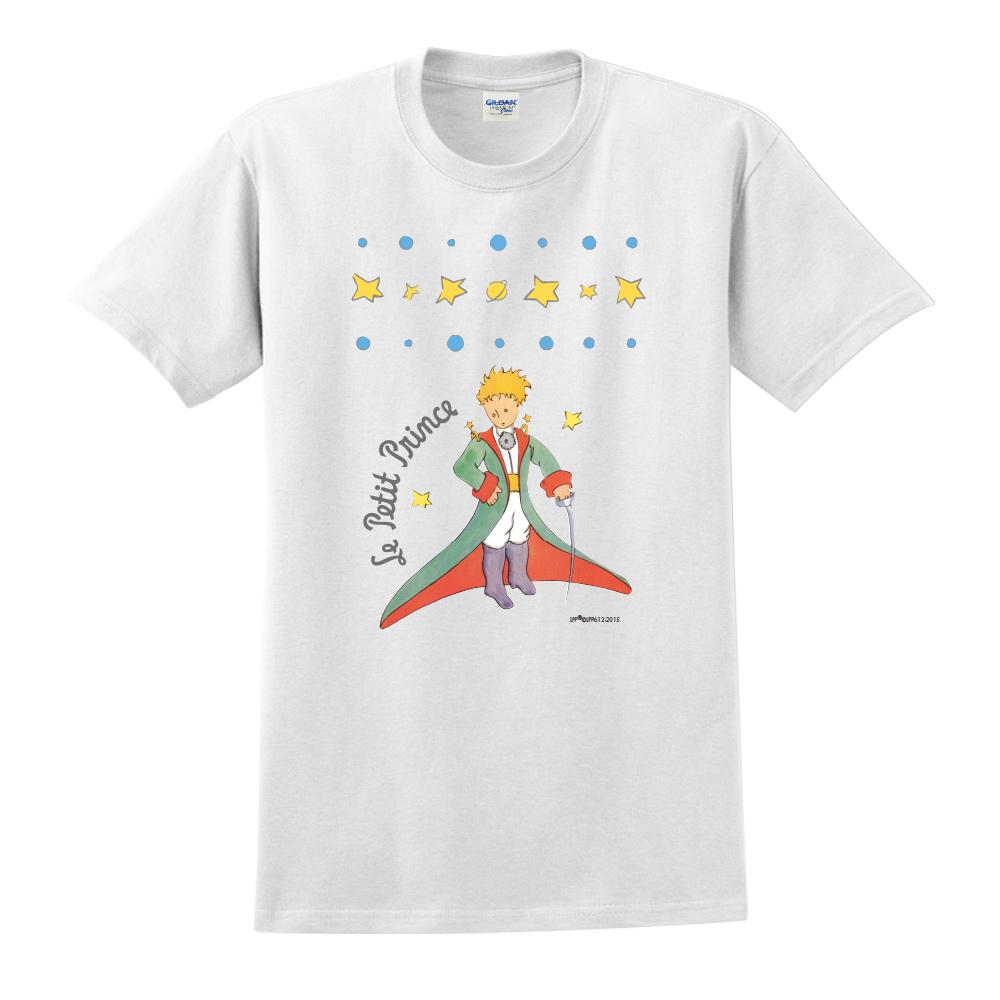 YOSHI850|小王子經典版授權【星星王子】短袖修身T-shirt《白色》