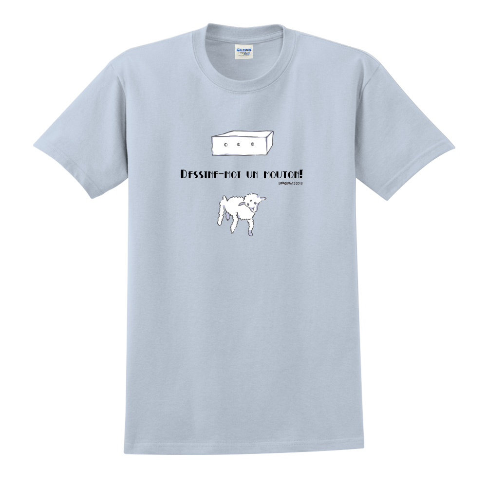YOSHI850|小王子經典版授權【幫我畫隻羊】短袖修身T-shirt《3色》