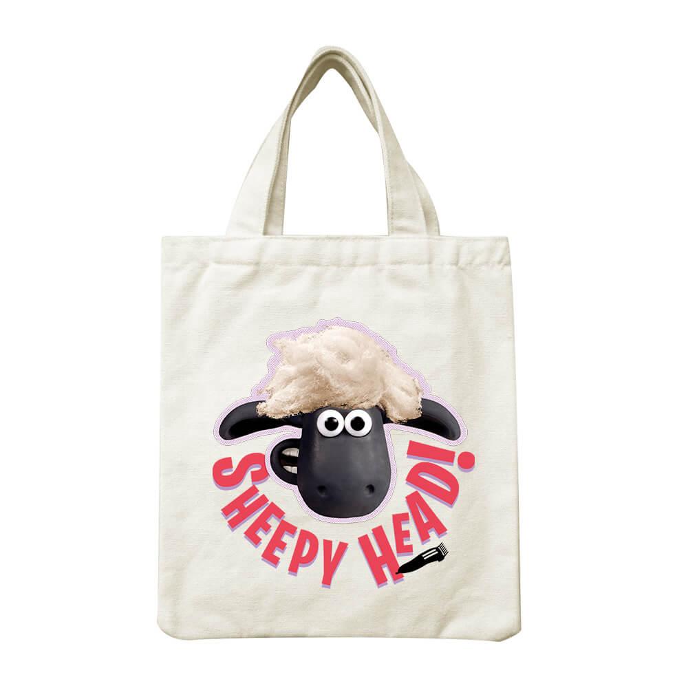 YOSHI850|笑笑羊正版授權Shaun The Sheep:小帆布包【ZZ羊 】